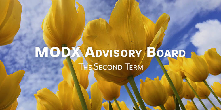 The 2nd term of the MODX Advisory Board